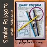 Geometry: Similar Polygons Doodle Graphic Organizer