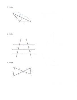 Geometry Similar Polygons Test