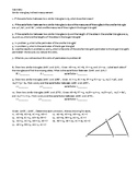 Geometry -- Similar triangles, Scale factor, Indirect Measurement