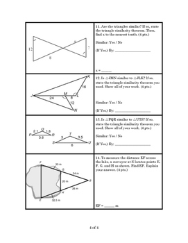 Geometry Similarity Test