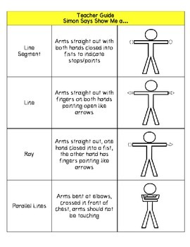 Geometry Simon Says: Using Physical Activity to Promote Learning