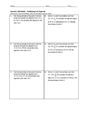 Geometry Skill Builder - Partitioning Line Segments