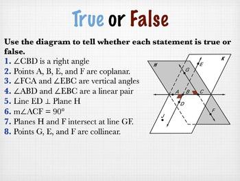 Geometry Smart Response True/False Review Bundle (1 day)