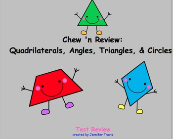 Geometry SmartBoard Chew 'n Review Game