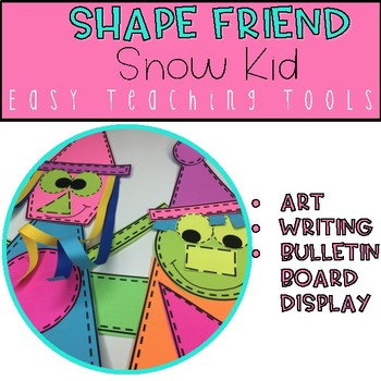 Geometry Snow Friends Craft for Winter