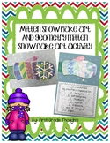 Geometry Snowflake and Mitten Art Activity