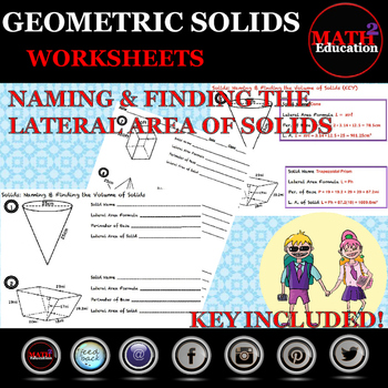 Solids - Naming and Finding Lateral Area of Solids
