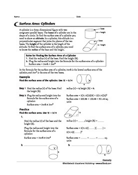 Geometry: Solids and Surface Area