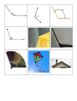 Geometry Sort:  Lines, Rays and Angles!