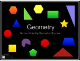 Geometry - Sort and Identify Geometric Shapes (Keynote)