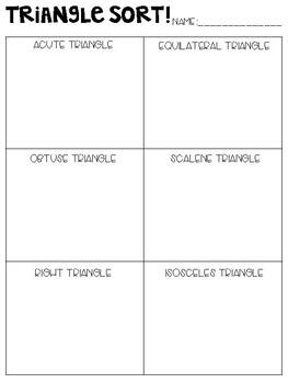 Geometry Sorts
