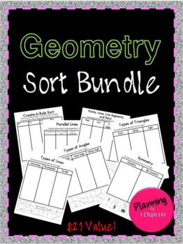 Geometry Sorts Bundle