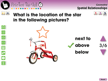 Geometry: Spatial Relationships - Practice the Skill 3 - MAC Gr. PK-2