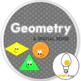 Geometry & Spatial Sense ~ Grade 1 printables