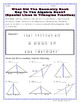 Triangles - Special Lines In Triangles Riddle Worksheet