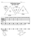 Geometry Special Right Triangle Exploration and Assignment