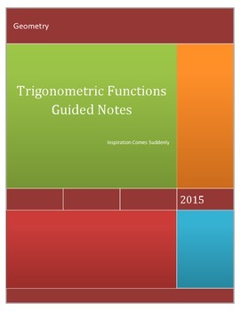 Geometry Special Right Triangles PowerPoint and Guided Notes