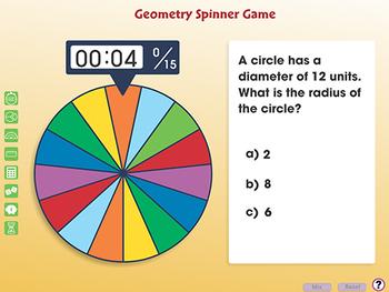 Geometry: Spinner Game - PC Gr. 6-8