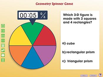 Geometry: Spinner Game - PC Gr. PK-2
