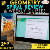 Geometry Spiral Review | Google Classroom Distance Learnin