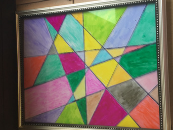 Geometry Stained Glass Project