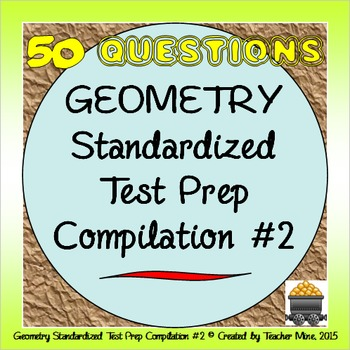 Geometry Standardized Test Prep Compilation #2