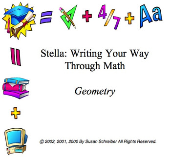 Geometry Stella Curriculum Package