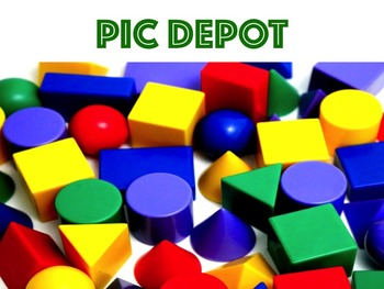Geometry Stock Photo Colorful 3D shapes