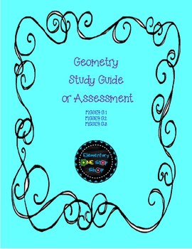 Geometry Study Guide OR Assessment