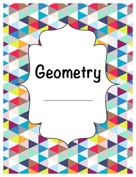 Geometry Study Guide / Student Notes