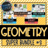 Geometry Super Bundle #3 Congruency, Similarity, Logic & P