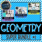Geometry Super Bundle #1! Basics, Parallel Lines, Polygons