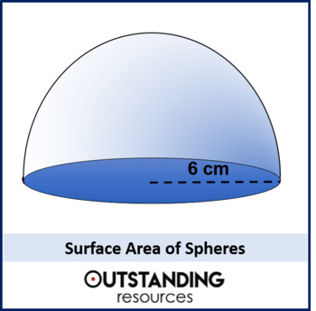 Geometry: Surface Area 4 - Surface Area of Spheres (+ resources)
