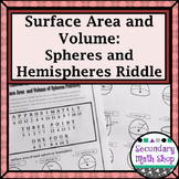 Surface Area & Volume - Unit 11: 3-D Figures Vocabulary Assignment and Puzzles