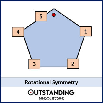 Geometry: Symmetry 2 - Order of rotation / Rotational Symmetry (+ worksheet)