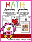 Geometry: Symmetry {Valentine's Day Tile Project}