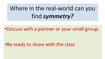 Geometry-Symmetry in the real world: in people-animals-nature Smart Bd, PPT, PDF