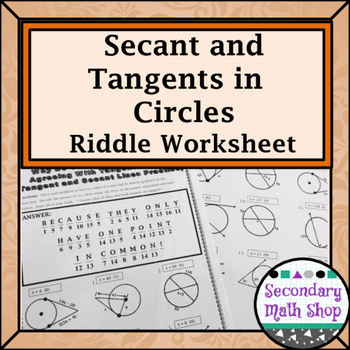 Tangents To Circles Worksheet Answers Worksheets For School ...