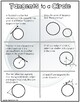 Geometry: Tangents to a Circle Doodle Graphic Organizer