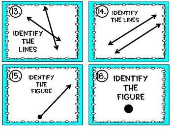 Geometry Task Card Bundle