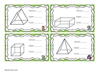 Geometry Task Card Game