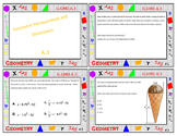 Geometry Task Card Review - GMD and MG