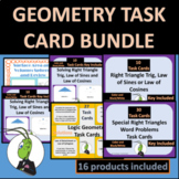 Geometry Task Card Station Bundle