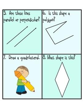 Geometry Task Cards!