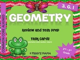 Geometry Task Cards (Math- 2nd - 3rd Grade)