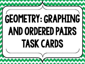 5th Grade Geometry Task Cards