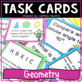 Geometry Task Cards (Geometry Activities and Games) for 4th Grade