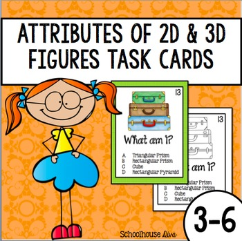 FREE Geometry Task Cards