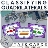 Classifying Quadrilaterals Activities | Task Cards