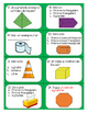 Geometry Task Cards-  FRENCH